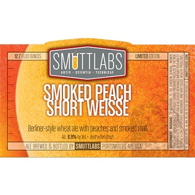 Smuttynose - Smoke Peach Short Weisse