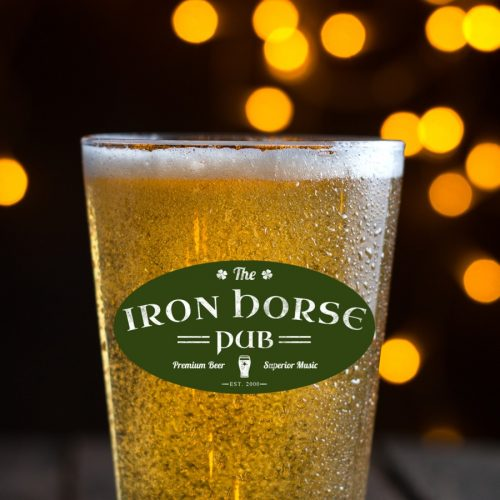 come to the iron horse pub for a premium beer experience